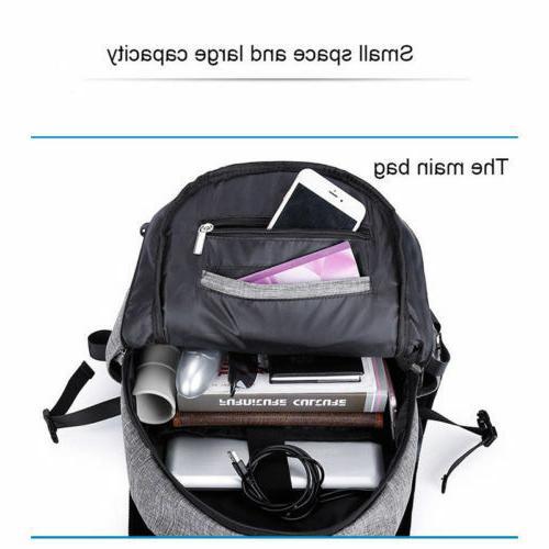 BLUE Anti-theft w/ Laptop Travel School Y
