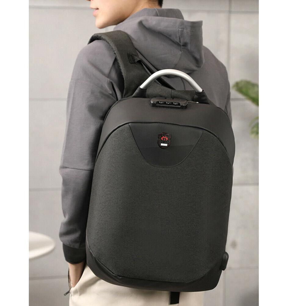 15.6inch Backpack Theft Travel Bag with USB