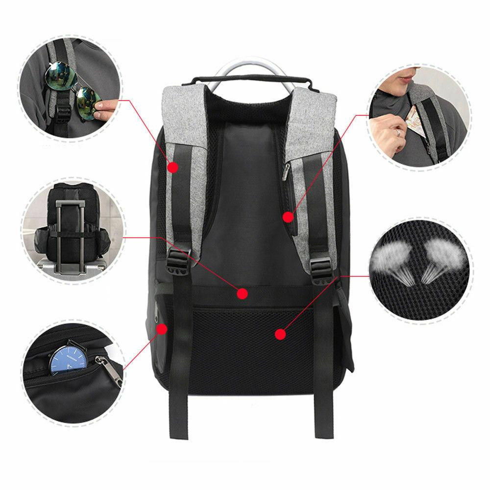 15.6inch Laptop Backpack Theft with USB Charging +Lock