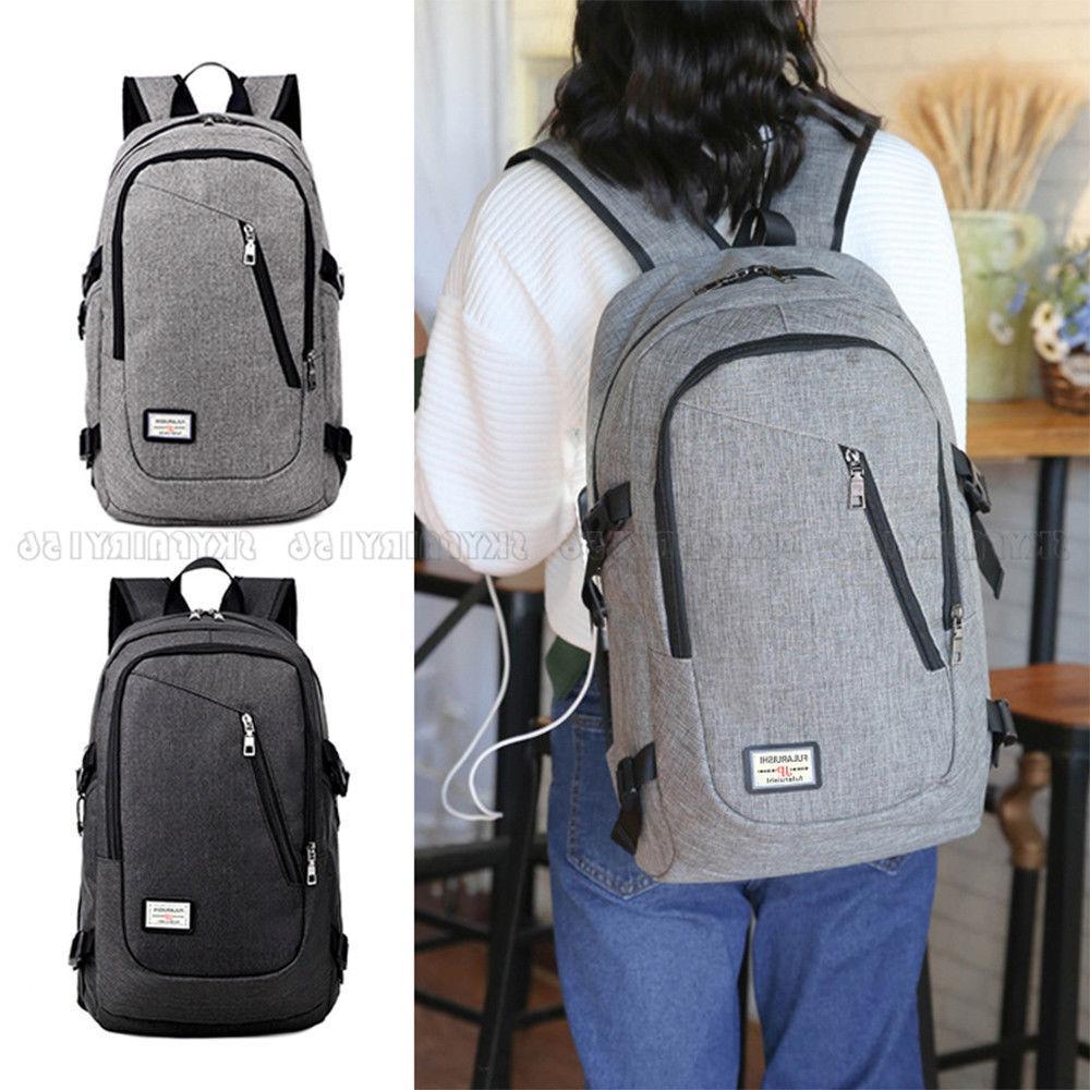 Anti-theft USB Charging Laptop Travel School Bag