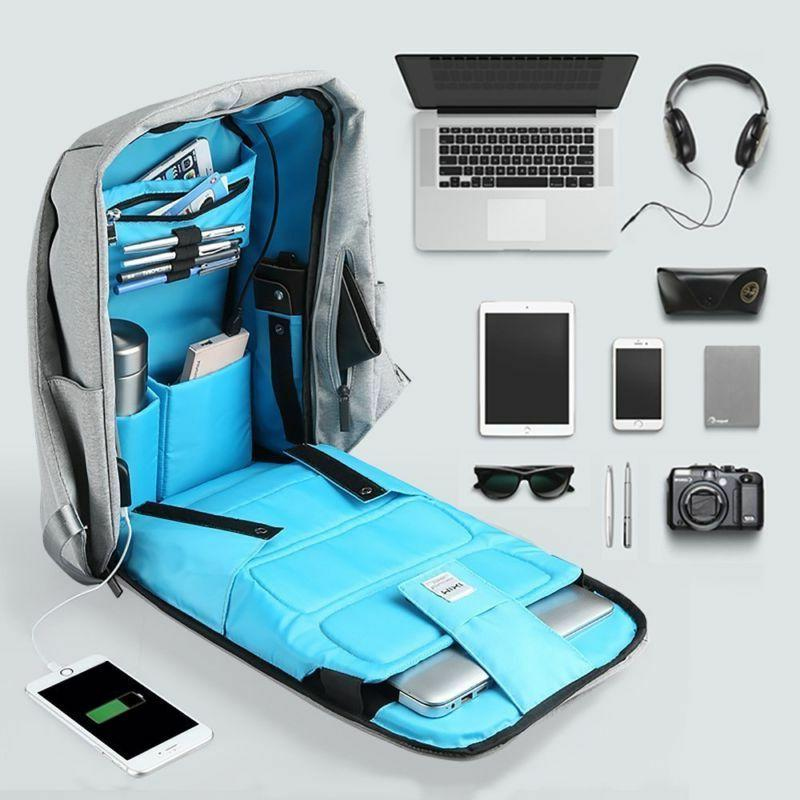 Anti-theft Business Laptop School Bag with USB