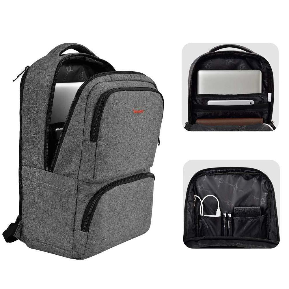 Anti Theft Backpack Fit 15.6 inch USB Nylon