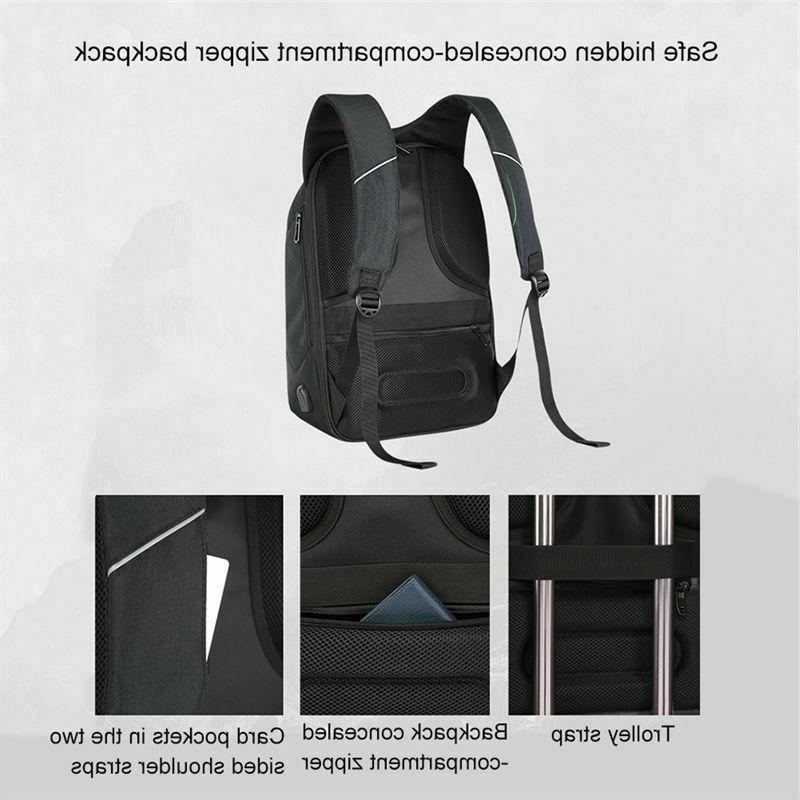 Anti-theft Unisex Laptop Notebook Backpack School