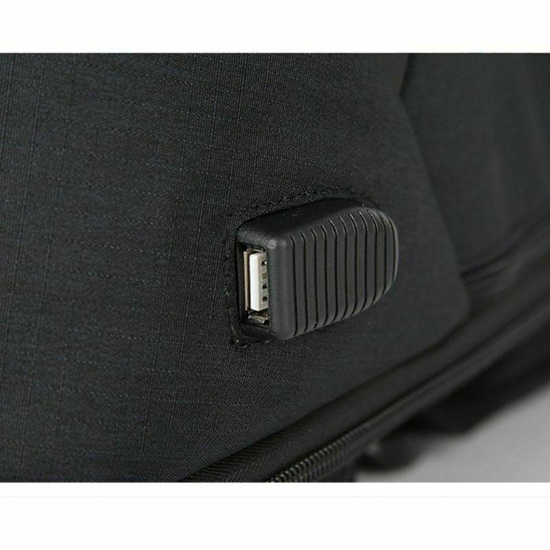 Anti-theft Unisex Laptop Notebook Backpack USB Business School 2019
