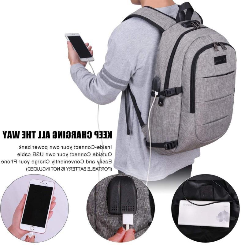 Travel Laptop Resistant Anti-Theft USB Charging