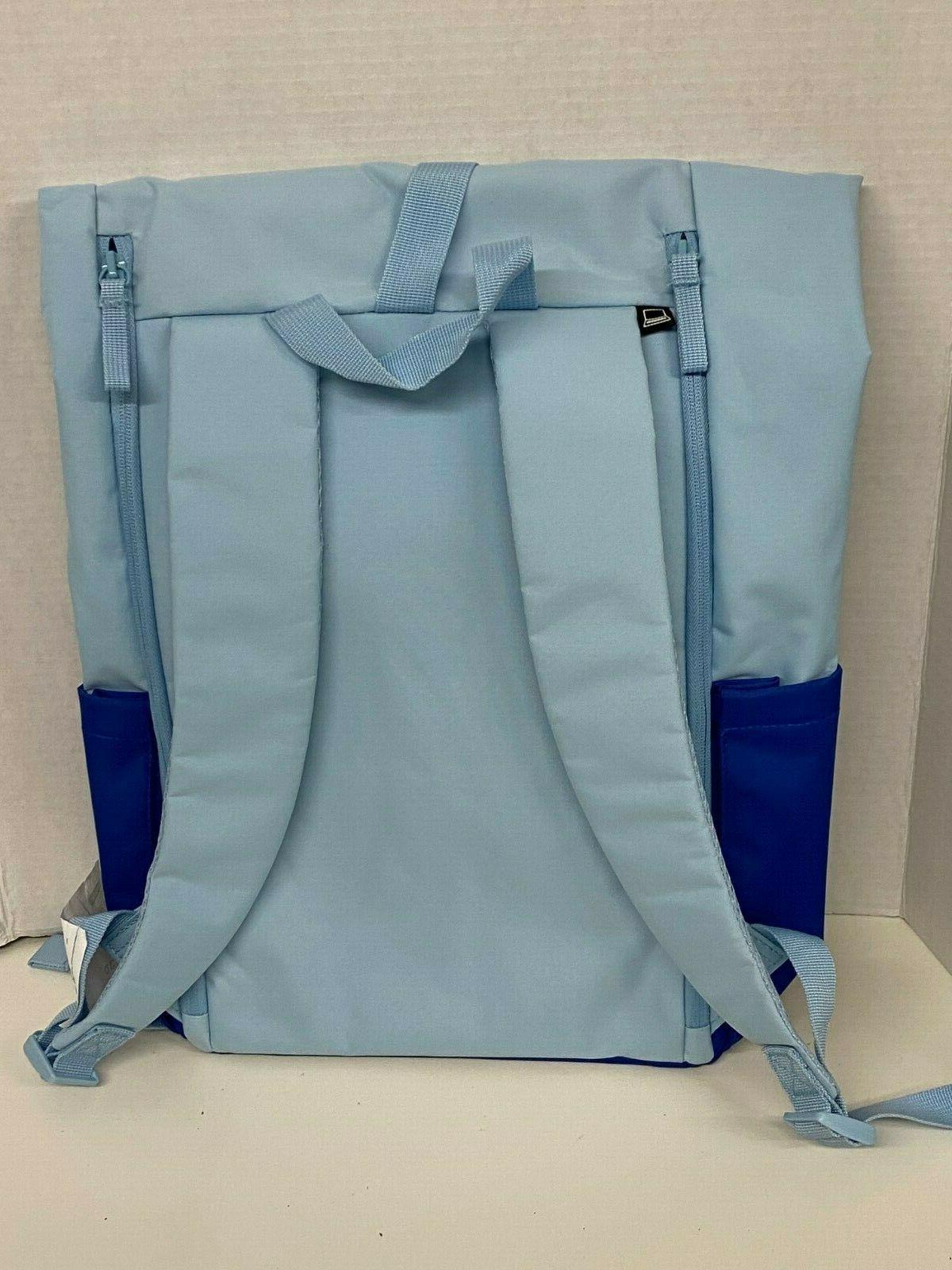 IKEA Backpack Bag Laptop 5 Gal Blue STARTTID NEW