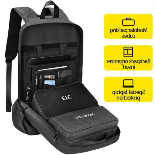 Arungor Mens Waterproof Laptop Backpack Computer Outdoor Tra