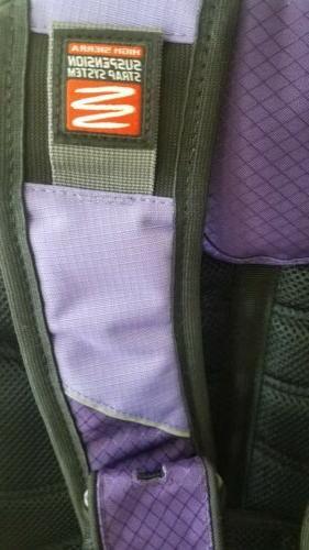 High Sierra backpack laptop strap spot