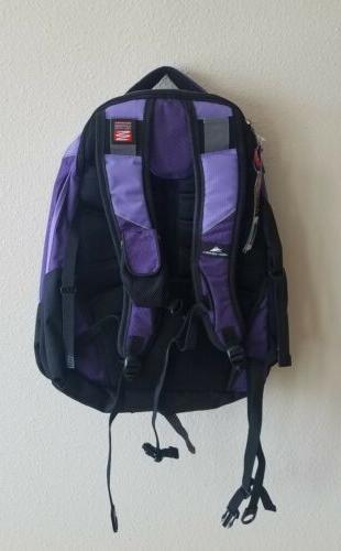 High backpack laptop suspension strap spot