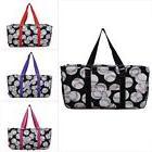 Baseball Print NGIL® Utility Tote Shopping Bag