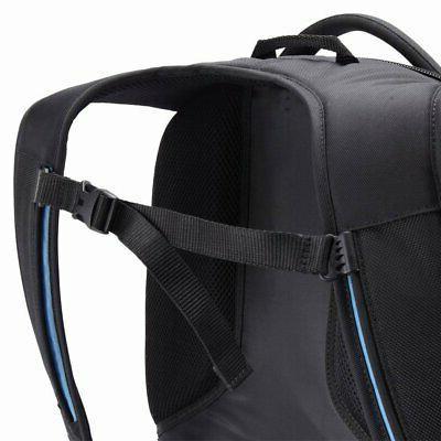 Case Laptop and Tablet Backpack, Black