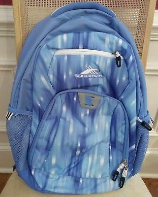 blue laptop backpack new no tags