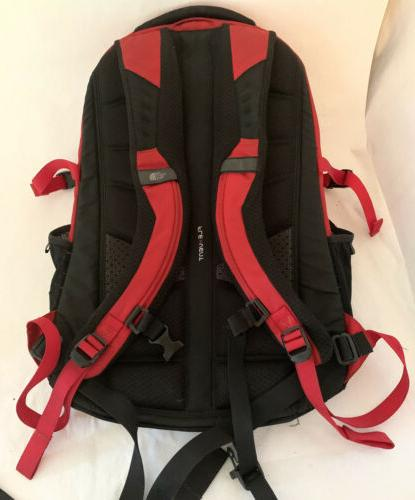 The North Face Backpack Red / Black Special Edition School Laptop