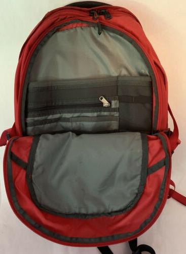 The North Backpack Red / Black Special School Laptop