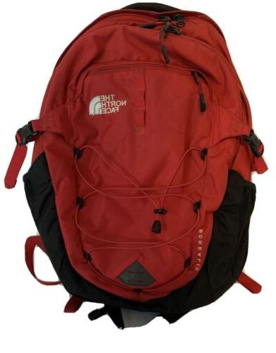 borealis backpack large red black special edition