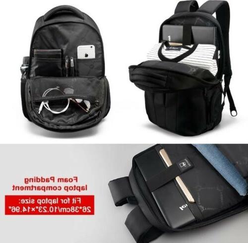 Tigernu Brand Laptop Backpack TSA Anti Theft Back