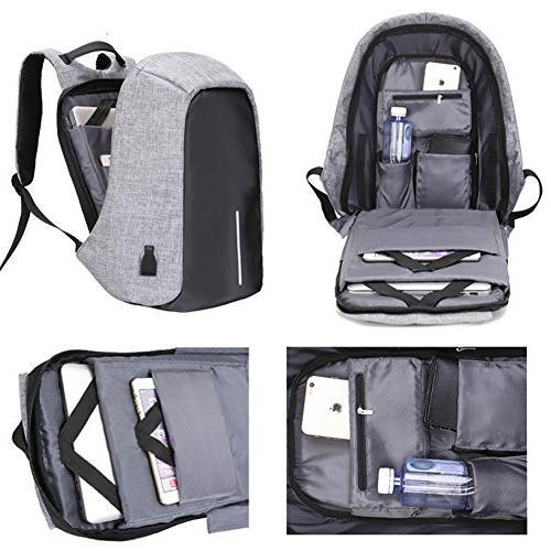 Business Laptop USB Charging Resistant Women Under Backpack