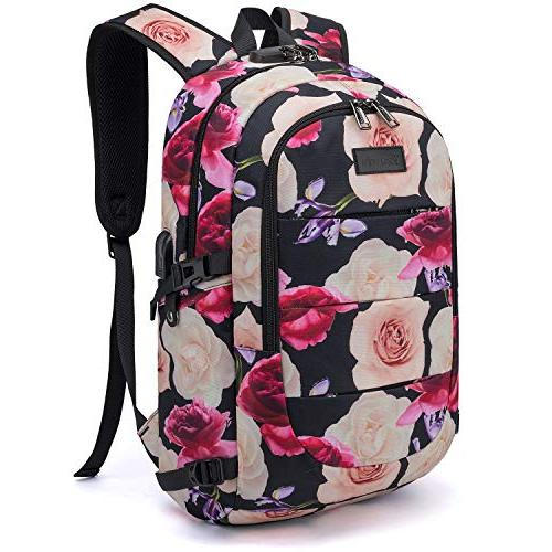 Tzowla Business Backpack Water Backpack with Port Inch Computer Backpacks for Women Casual Travel Daypack