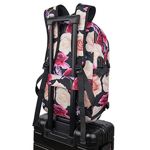 Tzowla Business Water Backpack Port Inch Computer Backpacks Women Girls, Casual