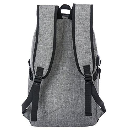Business Resistant Laptop Backpack Charging and Lock&Headphone Interface College