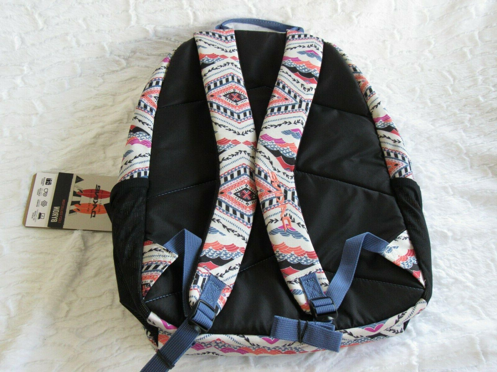 DaKine Printed Backpack School W/ Laptop NEW