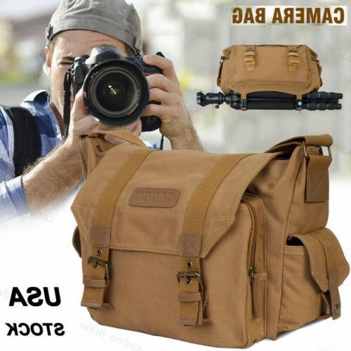 canvas f1 sling camera bag shoulder backpack