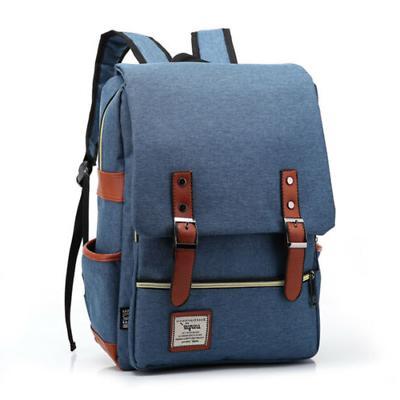 Canvas Bag Rucksack Satchel Laptop Shoulder