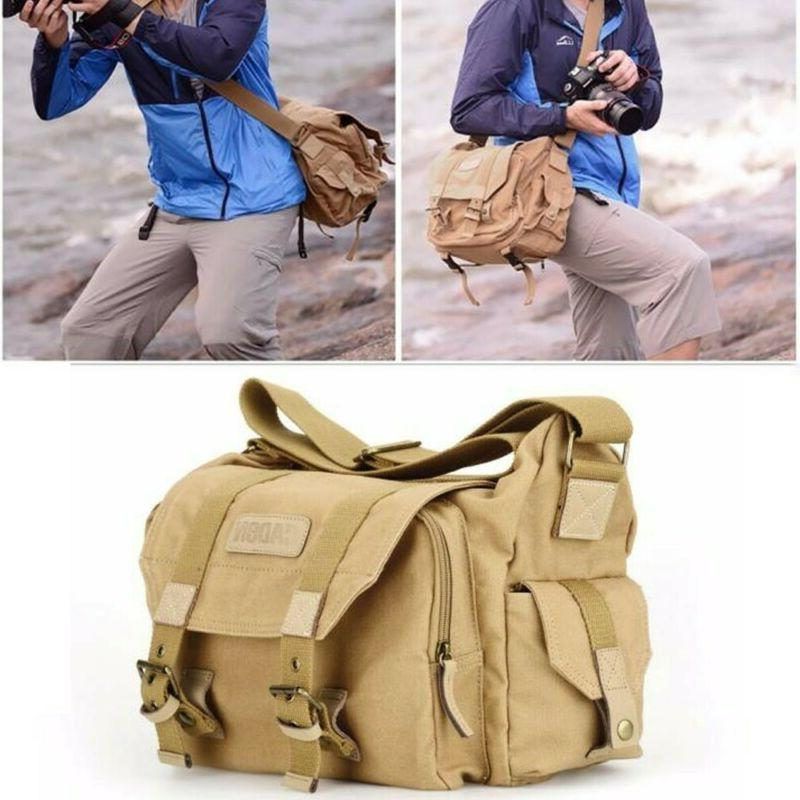 30006d32aa43 Fashion Canvas Retro Canvas DSLR SLR Vintage Camera Shoulder