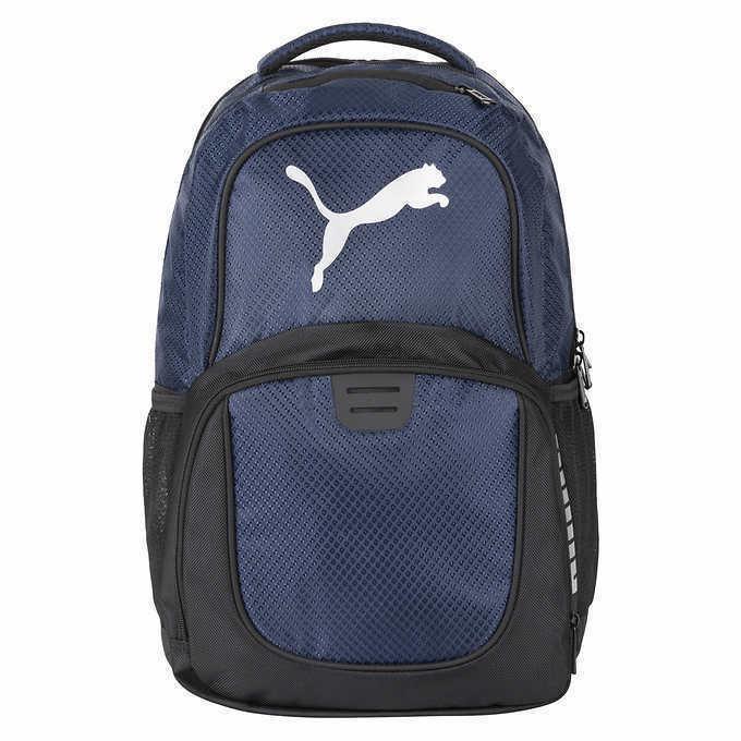 """Puma Challenger Backpack Blue Unisex 15""""Laptop Pocket, Pad"""