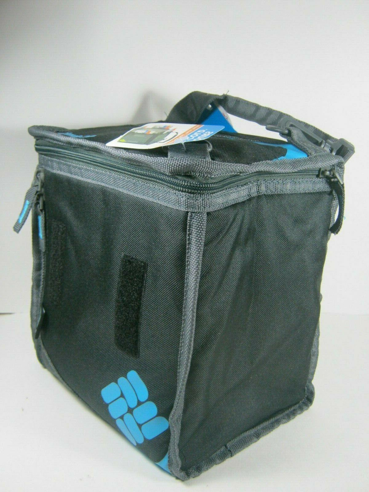 clear horizons freezable lunch pack black blue