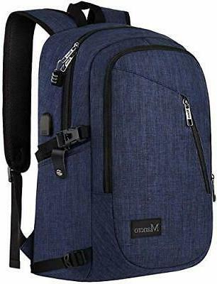 college backpack business slim laptop 15 6