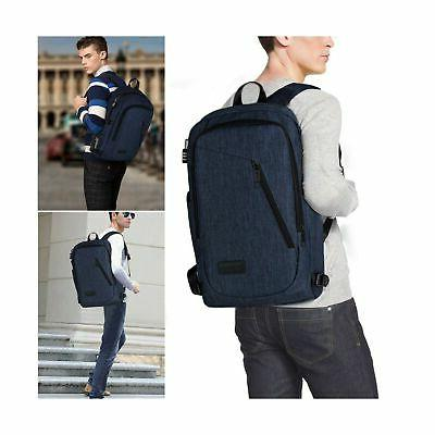 College Backpack, Business Slim Laptop Backpack, Mancro Anti-Theft Water Resi...