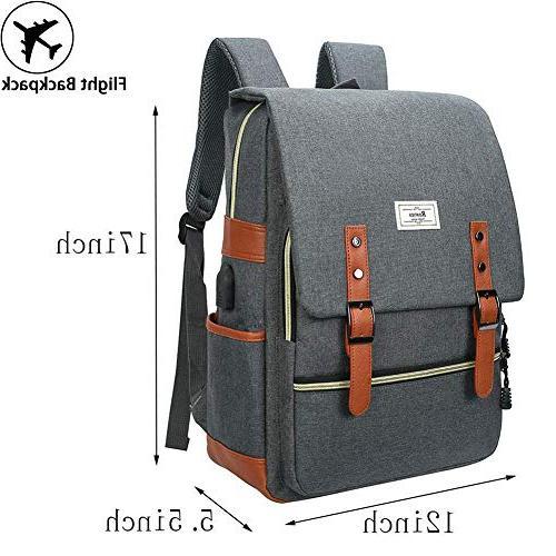 Unisex College up Casual Rucksack Waterproof Backpack