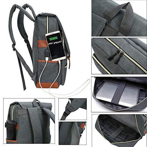 Unisex Bag up to 15.6'' Casual Rucksack Backpack Daypacks