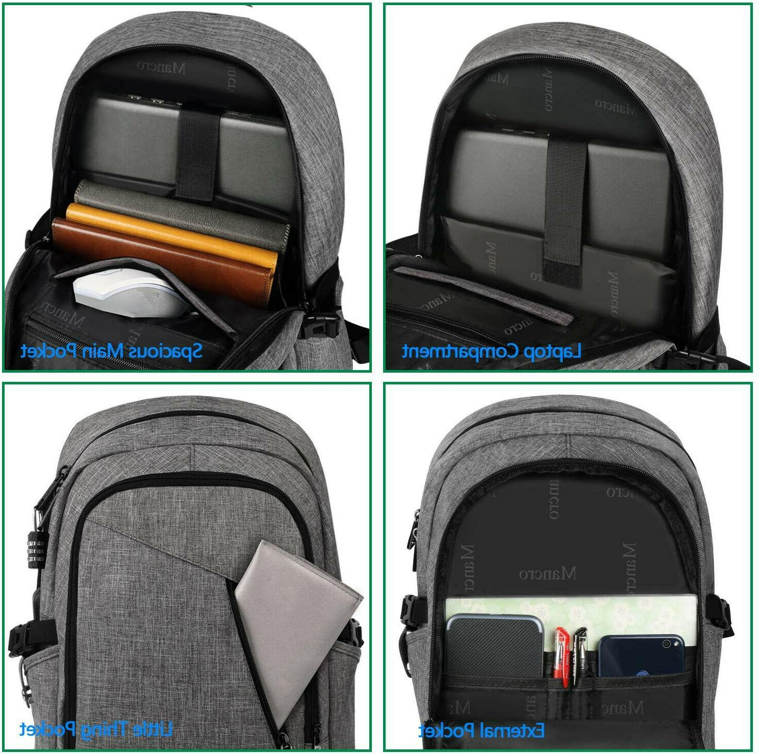 Mancro Computer USB Charging Port Fits Notebook