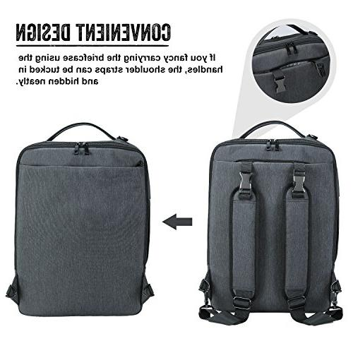 Lifewit Convertible 15.6 Inch Laptop Backpack 4 in 1 Travel Shoulder