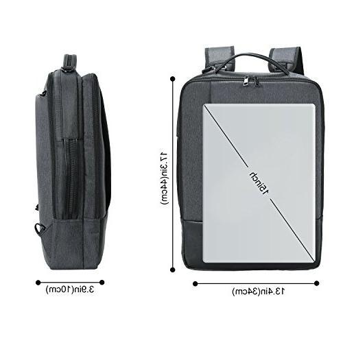 Lifewit Convertible Inch Laptop 4 1 Travel Shoulder Briefcase College
