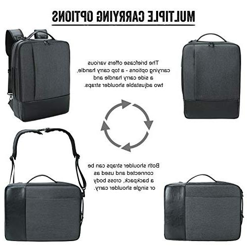 Lifewit 15.6 Laptop 4 1 Busniess Shoulder Repellent College Computer Bag