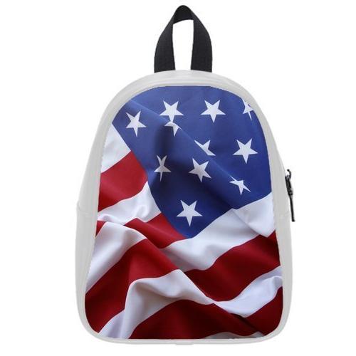 custom childrens america flag pu