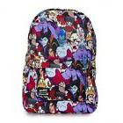 Loungefly Disney Villains Characters All Over Print Laptop B