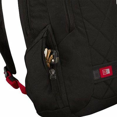 Case Logic 14-Inch Laptop Backpack Black TAXFREE
