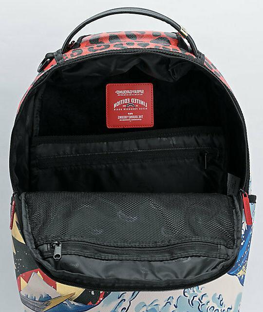Sprayground Wave Designer Fashion Backpack