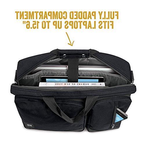 Solo Duane 15.6 Laptop Briefcase, to Amazon Exclusive
