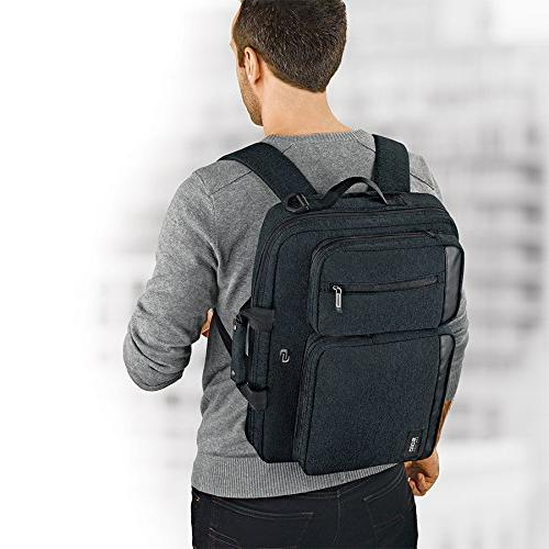 Solo Duane Laptop Hybrid to Backpack, Exclusive