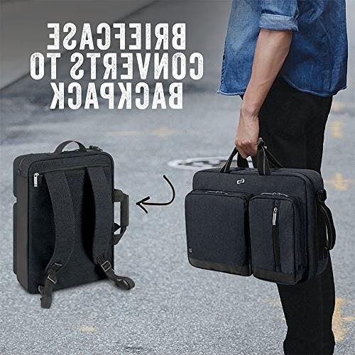 Solo Laptop Hybrid Briefcase, Converts Exclusive