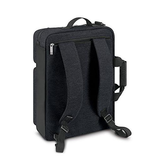 Solo Inch Laptop Converts to Backpack, Slate, Exclusive