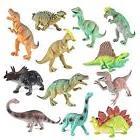 "Boley Educational Dinosaur Playsets Toys 12 pack - kids 9"" r"