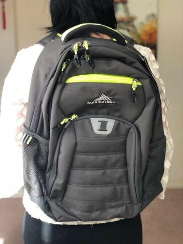 High Everyday 33L Laptop New With