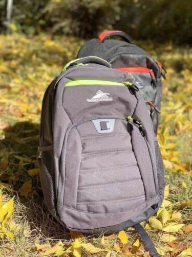 everyday 33l laptop backpack gray new