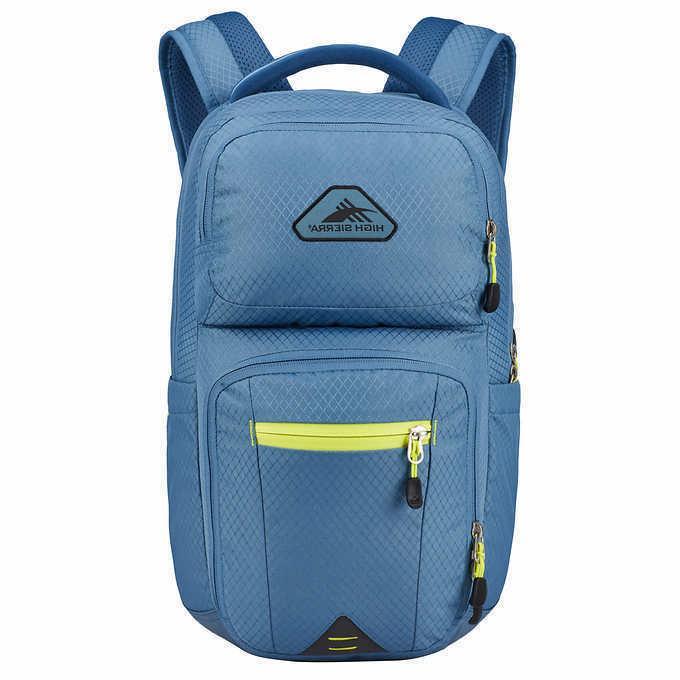 everyday backpack light blue solid 15 laptop